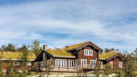 Den nye Geilo-hytta, som gikk for 10,65 millioner, er én av flere hytter i samme område som er blitt solgt denne måneden. Foto: Kikut.no