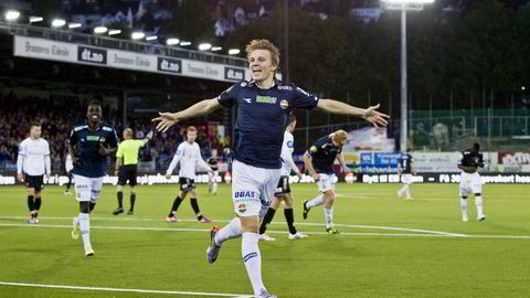 Alle kampene til Martin Ødegaard og co kan havne på TV 2 i 2015. Foto: