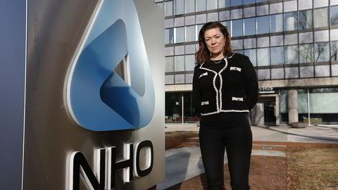 NHO-sjef Kristin Skogen Lund. Foto: Vidar Ruud /