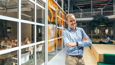 Geir Atle Bore sluttet som juniorpartner i McKinsey for å starte opp folkelån-selskapet FundingPartner, som har kontorer i Startuplab i Forskningsparken i Oslo.