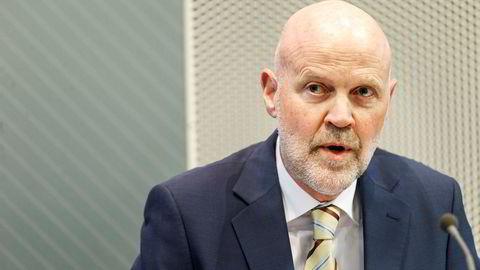 Direktør i Finanstilsynet Morten Baltzersen, her på en tidligere fremleggelse.