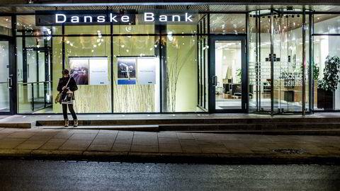Illustrasjonsbilde. Danske Bank konsoliderer kontorer i Midt-Norge. Foto: Stian Lysberg Solum /