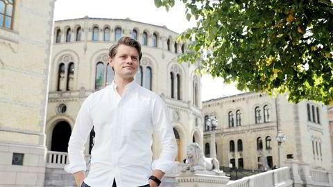 Peter Frølich, Høyres justispolitiske talsperson, mener kryptokunder må leve med risiko.