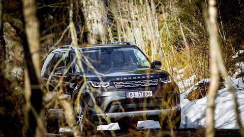 Nye Land Rover Discovery har mer avrundede former enn forgjengeren, og har slanket seg betydelig.