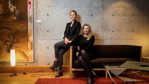 Tesha Crawford (tv) og Lina Brouneus fra Netflix har på kort tid gjort store investeringer i norske seriekonsepter.