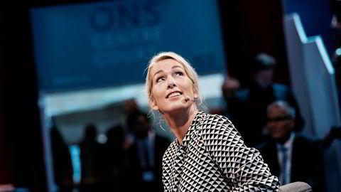 Det har stormet rundt administrerende direktør Anita Krohn Traaseth i Innovasjon Norge. Nå takker hun for seg.