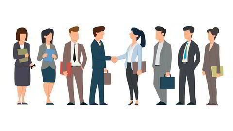 En organisasjon som ønsker økt kvinneandel bør ha både kvinner og menn i alle deler av organisasjonen, i fagstillinger, lederstillinger og i toppledelsen.
