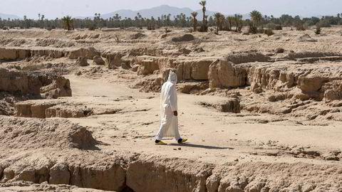 En av verdens største oaser, Tafilalet i Marokko, er i ferd med å tørke inn som følge av klimaendringene.