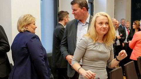 LO-leder Hans Christian Gabrielsen møtte statsminister Erna Solberg (H) og arbeids- og sosialminister Anniken Hauglie (H) på møtet i regjeringens kontaktutvalg tirsdag. Der ga han beskjed om at han mener det er feil å kutte i arbeidsmarkedstiltakene så lenge 113.000 mennesker står uten jobb.