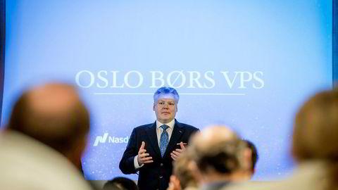– Beslutningen om ikke å kreve at enhver som søker å oppnå kontroll over Oslo Børs VPS må skaffe seg et flertall på to tredjedeler av aksjene skuffende,» sier Nasdaq Nordic-sjef Lauri Rosendahl