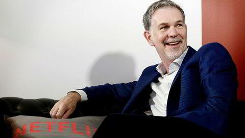 Gründer og sjef i Netflix, Reed Hastings, vil gjerne tilby flere norske filmer og serier til Netflix-brukere i hele verden.