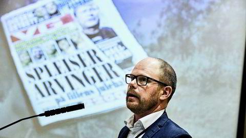 Ansvarlig redaktør Gard Steiro i VG beklaget fredag overfor leserne i egen avis: – Jeg er fryktelig, fryktelig lei meg, sa Steiro.