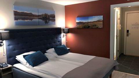 Radisson Blu-hotellet er nesten alene om å tilby hotellstandard på Beitostølen.
