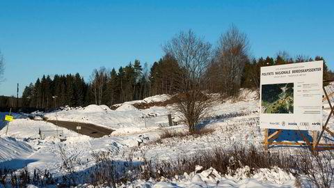 Byggingen av Politiets nasjonale beredskapssenter på Taraldrud utenfor Oslo er allerede i gang.