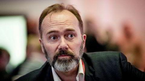 Trond Giske under Arbeiderpartiets landsmøte.