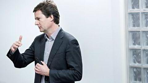 Konsernsjef Per Axel Koch i Polaris Media har vært gjennom et hektisk år med store oppkjøp.