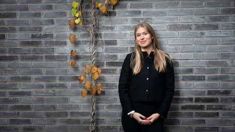 Frid Svendsen (25) syntes det gikk greit å forhandle lønn i sin nye jobb.