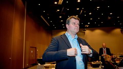 LO-leder Hans-Christian Gabrielsen er klart for et krevende lønnsoppgjør.