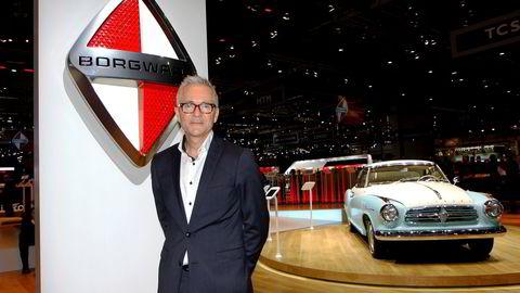 Den norske designeren Einar Hareide skal jobbe som sjefdesigner for det tyske bilmerket Borgward. Foto: Embret Sæter