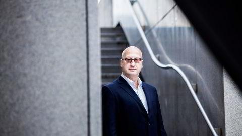 Investeringsdirektør Albert Collett i Arctic Fund Management. Foto: Adrian Nielsen