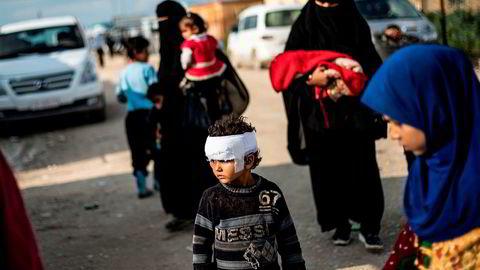 Nå risikerer barn av foreldre med IS-tilknytning å bli statsløse. Her fra Al Hol-leiren i Syria.