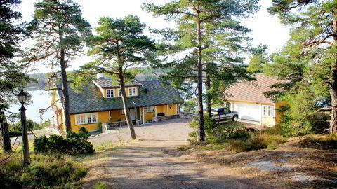 Rederarving Thomas Wilhelmsen sikret seg Nøtterøy-eiendommen til PGS-gründer Reidar Michaelsen på tvangssalg, utenfor det åpne markedet. Pris: 29,25 millioner kroner. Foto Tom Brodin