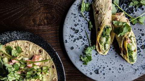 Bjørn Svenssons cevicherull er et perfekt alternativ til taco om sommeren. Foto: Camilla Jensen
