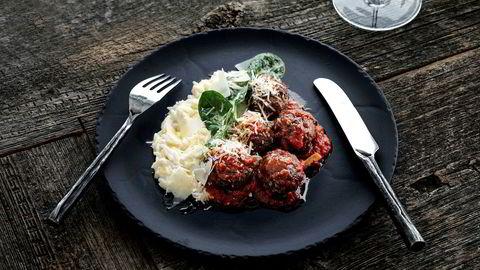 Amerikanske kjøttboller med risoni er perfekt for hverdagen og i fryseboksen.