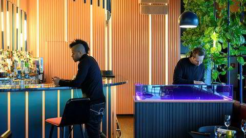 Lørdager på Ling Ling i Oslo spiller serveres lunsjen til klubbmusikk.