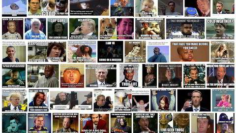 Eu-regler kan sette en stopper for spredning av humoristiske og grafiske «memes». Wikipedia beskrives memes som en type digital folklore, som først og fremst er visuelle vitser.