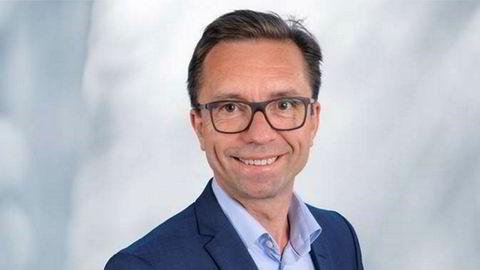Vant oljeprisgjettelek. Tore Guldbrandsøy fra Rystad Energy vant oljeprisgjetteleken under Sandefjordkonferansen.