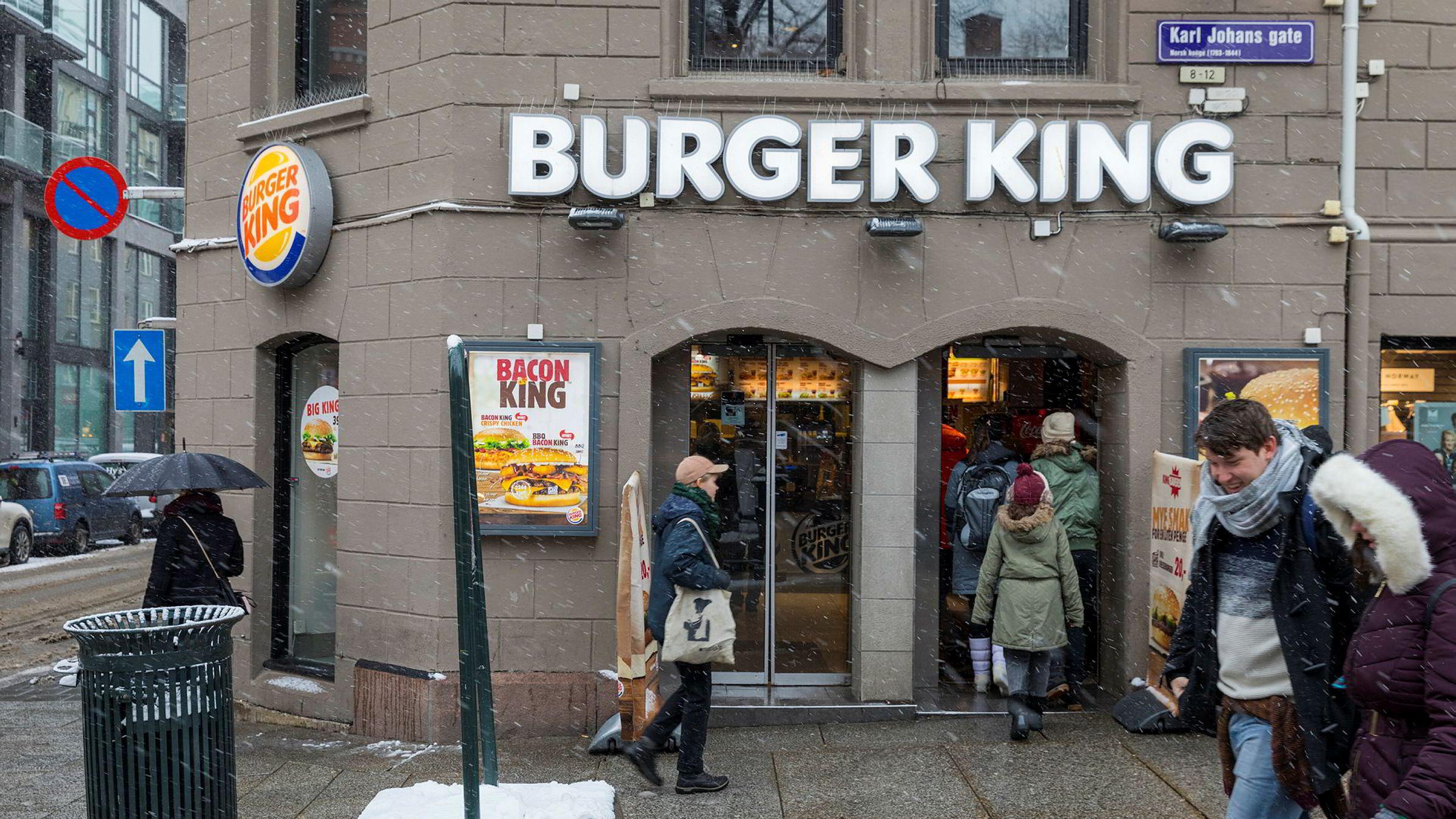 Burger King åpner nye restauranter i Norge.