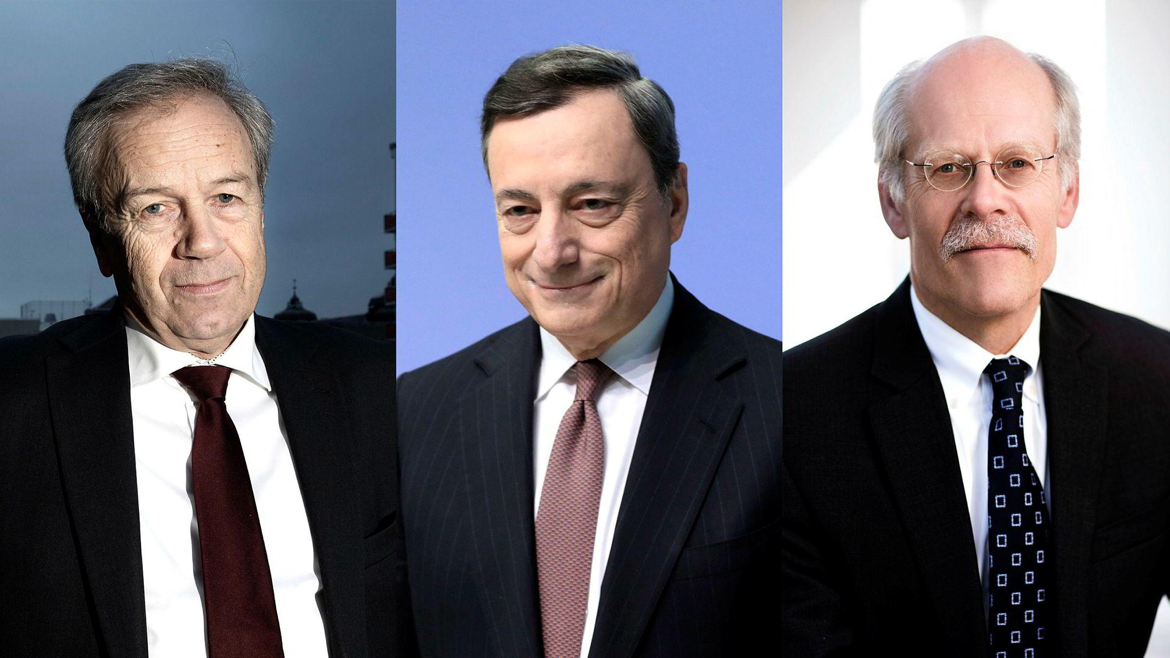 Rentebeskjedene fra sentralbanksjef Øystein Olsen i Norges Bank, sentralbanksjef Mario Draghi i ECB og sentralbanksjef Stefan Ingves i Riksbanken kommer alle i løpet av et kort tidsrom torsdag. Analytikerne tror én av dem kommer til å stikke av med mesteparten av oppmerksomheten.