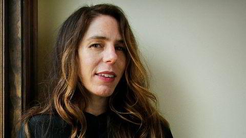 Forfatter Rachel Kushner fotografert i sitt hjem i Los Angeles i 2013.