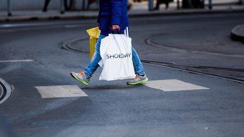 Shoppingen har tatt seg kraftig opp etter at koronapandemien nådde Norge.