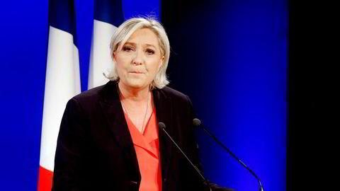 Marine Le Pen, leder av Nasjonal Front i Frankrike.