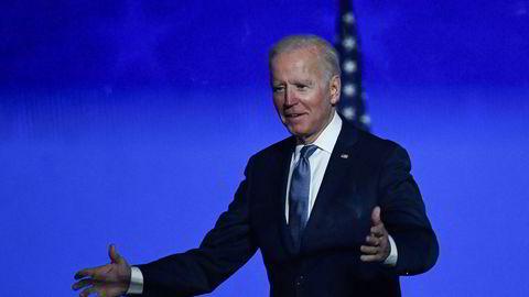Aksjemarkedet liker utsiktene til at Joe Biden blir president og at republikanerne beholder flertallet i Senatet.