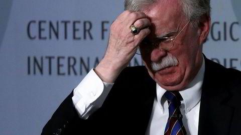 Som leder av Sikkerhetsrådet var John Bolton blant de aller mektigste i Washington, før han kom på kant og trakk seg tidligere i høst.