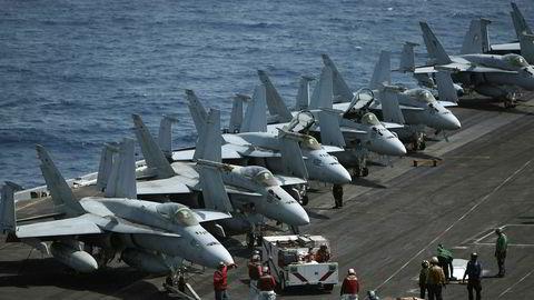 Canada dropper å kjøpe amerikanske F-18 jagerfly fra Boeing.