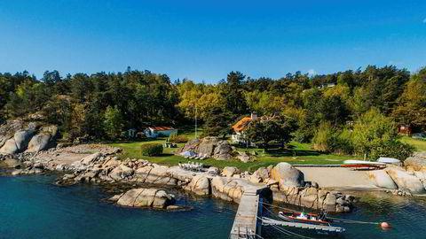 Anette og Christen Bakke punget ut 36 millioner for denne hytteperlen i Sandefjord.