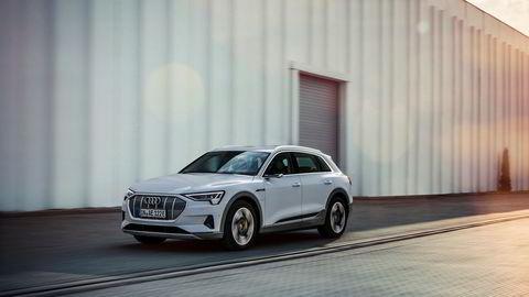 Elbilen Audi E-tron og Volkswagen E-Golf drar sammen med varebiler resultatet mot en milliard for Møller Mobility Group.