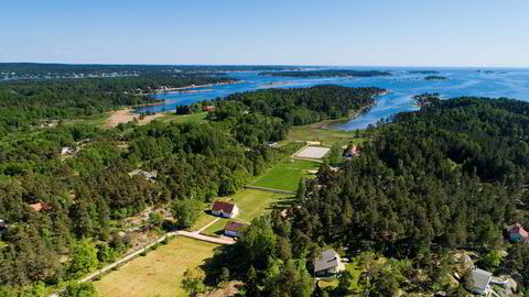 Denne herskapelige eiendommen på Veierland i Færder kommune er den dyreste sjøeiendommen til salgs på det åpne markedet.