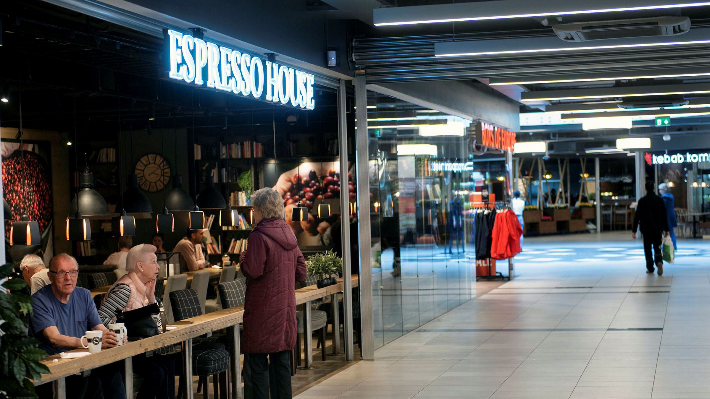 Espresso House på Stovner Senter.