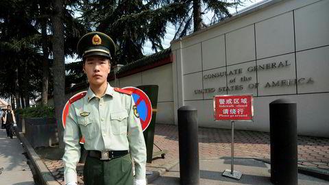 USAs konsulatet i Chengdu, vest i Kina, er beordret stengt etter at USA beordret Kina å stenge sitt konsulat i Houston i Texas.
