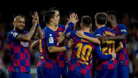 Barcelonas er den klubben som har den høyeste omsetningen.
