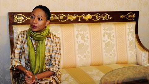 I 2011 ble Samia Nkrumah den første forkvinnen i farens parti CPP. Partiet sliter i dag med oppslutningen i Ghana. Bildet er tatt i Milan samme år.