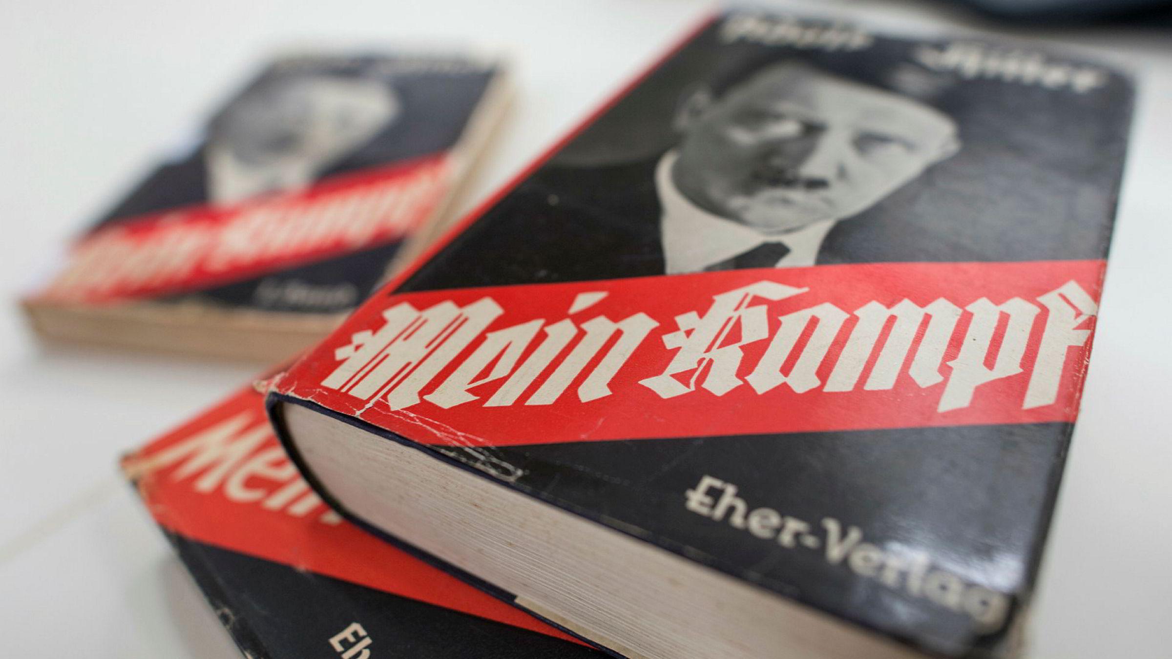 Auksjonshuset får kritikk for å selge en luksusutgave av «Mein Kampf»