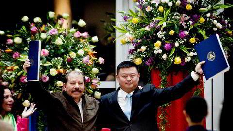 Den kinesiske forretningsmannen Wang Jing fikk i juni 2013 konsesjon av president Daniel Ortega til å bygge Nicaragua-kanalen som skulle knytte sammen Stillehavet med Atlanterhavet – i konkurranse med Panamakanalen. Storpolitikk har ført til at prosjektet til 50 milliarder dollar sannsynligvis skrinlegges.