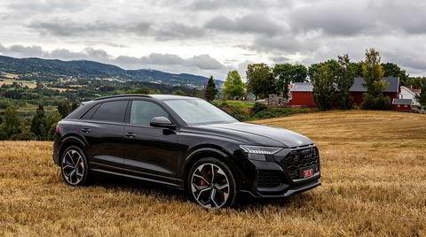 Audi RS Q8 er faktisk ganske diskré av utseende, men ikke ute på veien.