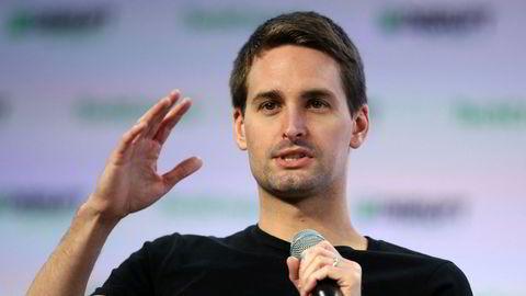 Snapchats grunnlegger og toppsjef Evan Spiegel leverer gode resultater.
